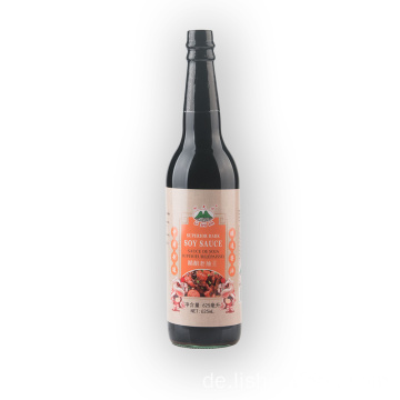 625ml Glasflasche Superior Dark Soy Sauce
